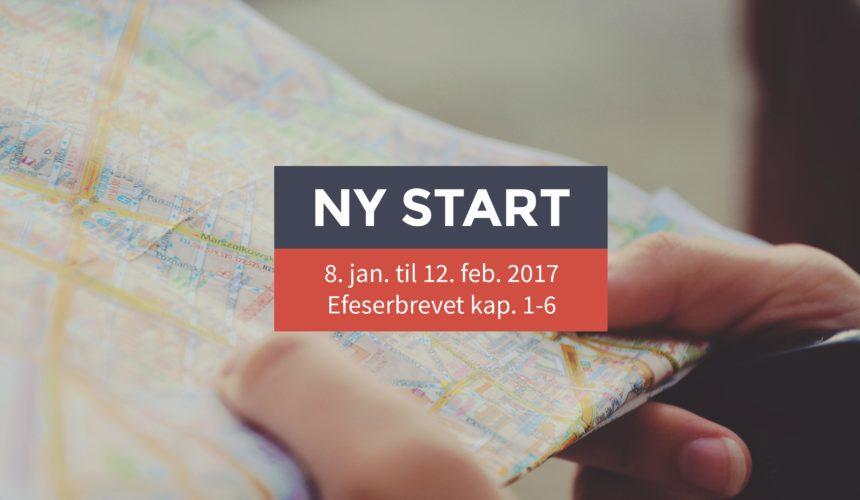 Ny start – I Jesus