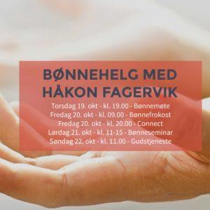 Bønnehelg med Håkon Fagervik