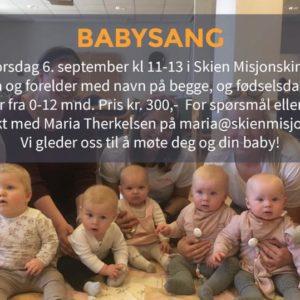 Velkommen til Babysang!