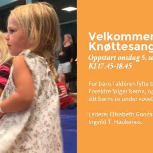 Velkommen til Knøttesang!
