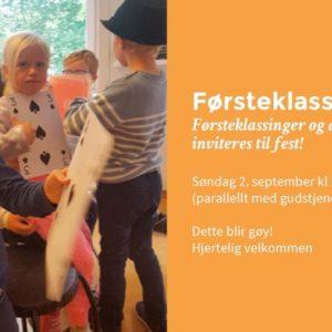 Førsteklassefest 2. september