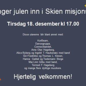 Julekonsert / Vi synger jula inn