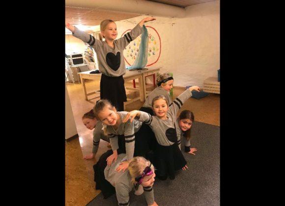 Dansegruppa starter opp igjen tirsdag 29. januar kl 17.30
