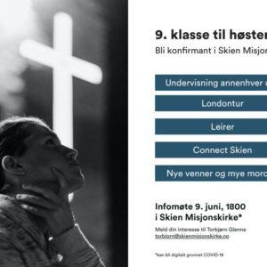 Konfirmasjon i Skien misjonskirke neste år