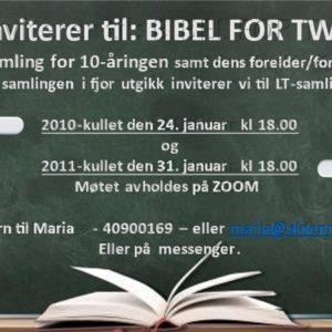 BIBEL FOR TWEENS