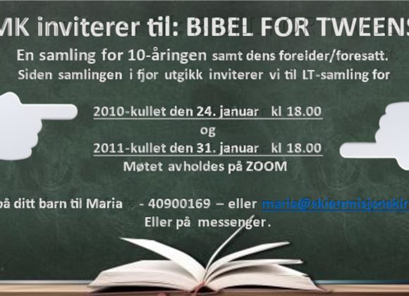 BIBEL FOR TWEENS
